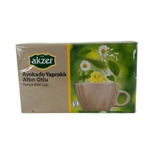 Akzer Avakado Yapraklı Altın Otlu Çay 7 88